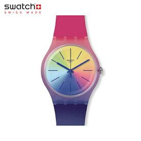 【公式ストア】Swatch スウォッチ MULTIBOOST マルチブースト SUOK143Originals(オリジナルズ) NEW GENT(ニュー・ジェント) 【送料無料】(素材)ベルト:シリコン ケース:プラスティックメンズ レディース 腕時計 人気 定番 プレゼント