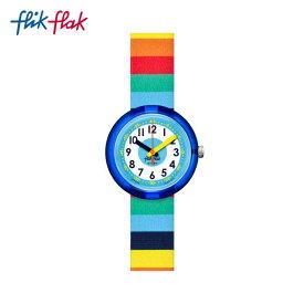 【公式ストア】Flik Flak フリックフラック STRIPYBOW FPNP056Swatch(スウォッチ) 【送料無料】(素材)ベルト:繊維 ケース:プラスティックキッズ ボーイズ ガールズ 腕時計 人気 定番 プレゼント