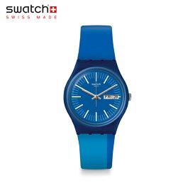 【公式ストア】Swatch スウォッチ TOKYO 2020 BLUE トーキョー・2020・ブルー GZ708Originals(オリジナルズ) Gent(ジェント) 【送料無料】(素材)ベルト:シリコン ケース:プラスティック
