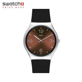 【公式ストア】Swatch スウォッチ SKIN RISTRETTO スキン・リストレット SS07S107Originals(オリジナルズ) SKIN Irony 42(スキン・アイロニー42) 【送料無料】(素材)ベルト:ゴム製