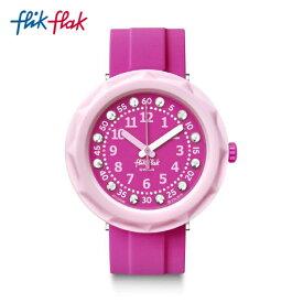 【スーパーSALE期間中ポイント10倍】【公式ストア】Flik Flak フリックフラック PINK MY MIND ピンク・マイ・マインド FCSP098Swatch(スウォッチ) Power Time(パワー・タイム) 【送料無料】(素材)ベルト:プラスチック(ビニール)製レディース 腕時計 人気