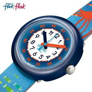 【公式ストア】Flik Flak フリックフラック SEA LA VIE シー・ラ・ヴィー FPNP086Swatch(スウォッチ) Story Time(ストーリー・タイム) 【送料無料】(素材)ベルト:再生pet ケース:バイオベースプラスチッ