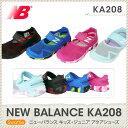 ニューバランス new balance KA208 キッズ・ジュニアサンダル アクアシューズ 子供用 キッズ ブルー(BL) ピンク(PN) レッド/ブラック(...
