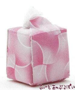 ミニチュア ティッシュボックス ピンク IM65152P ドールハウス用