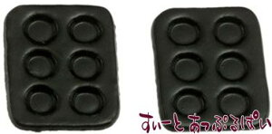 ミニチュア 黒のマフィントレイ 2枚セット IM65533 ドールハウス用