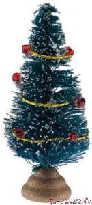ミニチュア 5cm ミニチュアクリスマスツリー NY60042 ドールハウス用