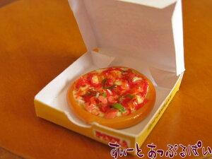 ミニチュア ボックス入りピザA SMFPZ2 ドールハウス用