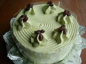 宇治抹茶ケーキ5号  スイーツ プチプギフト 誕生日 バースデーケーキ パーティ サプライズ キャラクターケーキ 還暦 お祝い 結婚記念日 入学 就職 新生活 母の日 父の日 おうち