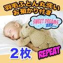 【羽毛布団 クリーニング】リピーター 丸洗い2枚 保管コース【送料無料】