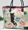 「 キルトゲイト 百華繚蘭 Japanese N-E-K-O 」和柄 ねこ 猫 生地 かわいい