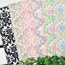 カットクロス セット YUWA 「 ヨーロピアンダマスク カットクロス6色セット 」 生地 花柄 北欧 モロッカン *