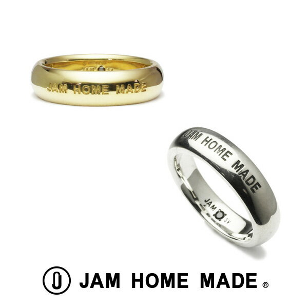 JAM HOME MADE ジャムホームメイド リング 指輪 ROUND DIAMOND RING M TYPE2 -SILVER- -GOLD-