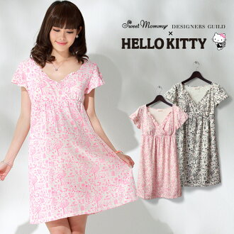 243a7c78629c HELLO KITTY×DESIGNERS GUILD×SWEETMOMMY collaboration with Japan Kitty-Chan  printed organic cotton