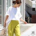 【一部予約】ビッグTシャツ Tシャツ 白Tシャツ レディース ゆるT コットン 綿 ビッグシルエット ゆったり 大きめ オーバーサイズ 5分袖…