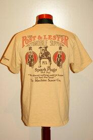 """代引手数料・送料無料 DELUXEWARE (デラックスウエア) 半袖Tシャツ MT-1702B """"BULL DOG"""" ESイエロー"""