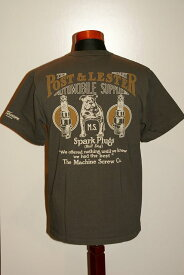 """代引手数料・送料無料 DELUXEWARE (デラックスウエア) 半袖Tシャツ MT-1702B """"BULL DOG"""" ホロブラック"""