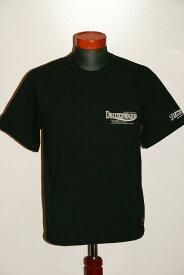 """代引手数料・送料無料 DELUXEWARE (デラックスウエア) 半袖Tシャツ BRG-13B """"Deluxe 4CYCLES"""" ブラック"""