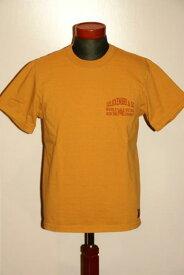 """代引手数料・送料無料 DELUXEWARE (デラックスウエア) 半袖Tシャツ DLT-1802 """"ATSC"""" USイエロー"""