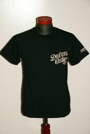 """代引手数料・送料無料 DELUXEWARE (デラックスウエア) 半袖Tシャツ BRG-00B """"DELUXEWARE"""" ブラック"""