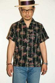 """代引手数料・送料無料 JELADO (ジェラード) イタリアンカラーシャツ SG32105 """"Vincent Shirts"""" ブラック"""