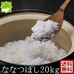 白米 20kg 送料無料 ななつぼし 北海道富良野産 令和3年産 新米 別途送料が発生する地域あり