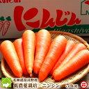 北海道富良野産 低農薬栽培 最高級フルーツニンジン 5kg(SサイズからLサイズ込) 【送料無料】【10P03Dec16】