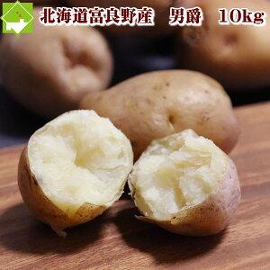 じゃがいも 10kg 送料無料 北海道富良野産  男爵芋(だんしゃくいも) 10kg(S-Lサイズ込)別途送料が発生する地域あり