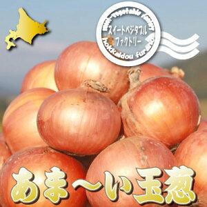 北海道富良野産低農薬であま〜い サラダ玉葱(タマネギ) 1kg【10P03Dec16】