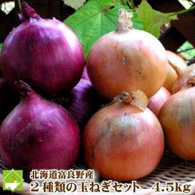 富良野産赤い玉葱・アーリーレッドセット