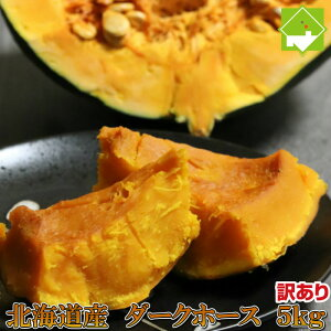 かぼちゃ 国産 ダークホース 訳あり 5kg 北海道富良野産