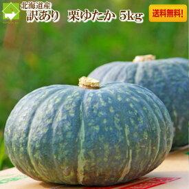 かぼちゃ 北海道富良野産 栗ゆたか 訳あり 5kg 送料無料