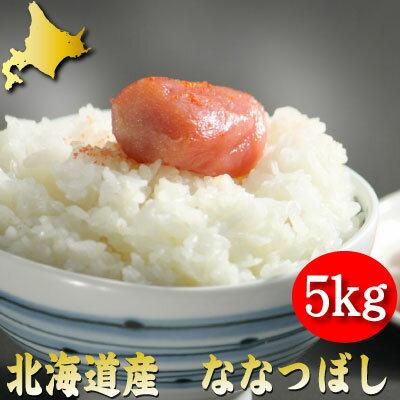 平成29年産 北海道産 新米 ななつぼし 5kg 送料無料