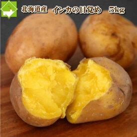 じゃがいも 北海道産 インカのめざめ 5kg送料無料【あす楽対応_北海道】