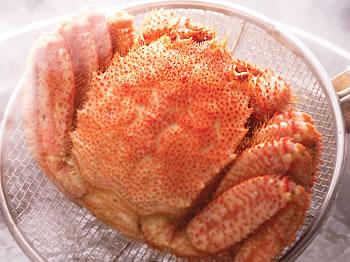 【送料無料】北海道産毛蟹