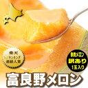 北海道富良野産 訳あり 赤肉メロン(めろん) 2Lサイズ 1.4kg以上1玉入り【10P03Dec16】
