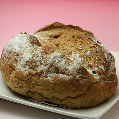 北海道美瑛産 小麦100% くるみパン3個【10P03Dec16】
