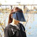 帽子レディース キャップ uv サンバイザー uvカット 顔面サンバイザー UVカット帽子 角度調節UVサンバイザー UVハット…