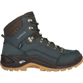 (取寄)ローバー メンズ レネゲード Gtx ミッド ハイキング ブーツ Lowa Men's Renegade GTX Mid Hiking Boot Navy/Honey【outdoor_d19】