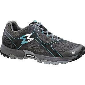 (取寄)ガルモント レディース 9.81ファスト ハイキングシューズ Garmont Women 9.81 Fast Hiking Shoe Light Grey/Aqua Blue【outdoor_d19】