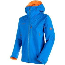 (取寄)マムート メンズ ノードワンド プロ HS フーデッド ジャケット Mammut Men's Nordwand Pro HS Hooded Jacket Sunrise/Ice【outdoor_d19】