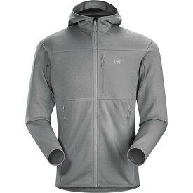 (取寄)アークテリクス メンズ フォートレズ フーデッド フリース ジャケット Arc'teryx Men's Fortrez Hooded Fleece Jacket Smoke II【outdoor_d19】