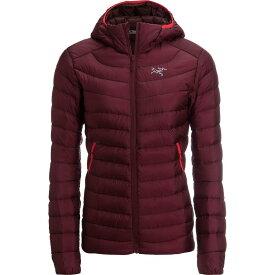 (取寄)アークテリクス レディース セリウム LT フーデッド ダウン ジャケット Arc'teryx Women Cerium LT Hooded Down Jacket Crimson【outdoor_d19】