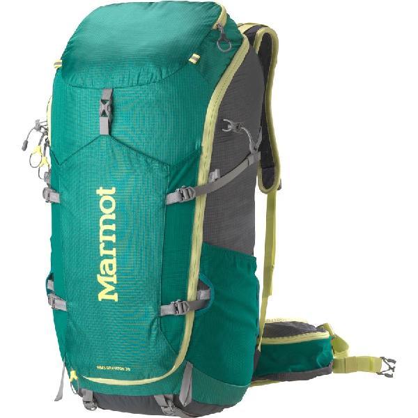 (取寄)マーモット レディース グラビトン 36 バックパック Marmot Women Graviton 36 Backpack Gem Green/Cinder