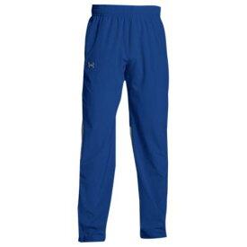 (取寄)アンダーアーマー メンズ チーム スクウォッド ウーブン ウォーム アップ パンツ Under Armour Men's Team Squad Woven Warm Up Pants Royal Steel
