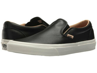 41d57814b34 (order) Vans (vans) sneakers classical music slip unisex men gap Dis Vans  Unisex Classic Slip (Lux Leather) Black Porcini