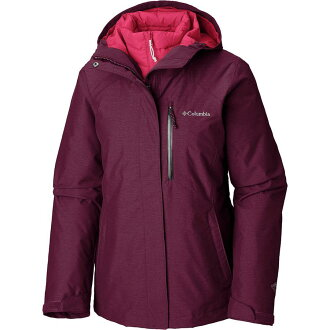 (order) Columbian lady's, wow, re-bird 3 interchange hooded jacket Columbia Women Whirlibird III Interchange Hooded Jacket Rich Wine Crossdye
