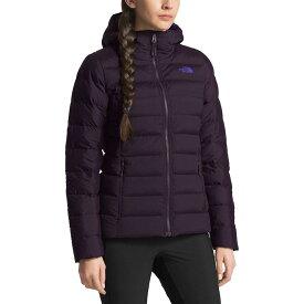(取寄)ノースフェイス レディース ストレッチ ダウン フーデッド ジャケット The North Face Women Stretch Down Hooded Jacket Galaxy Purple【outdoor_d19】