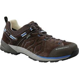 (取寄)ガルモント メンズ サンティアゴ ロウ Gtx ハイキングシューズ Garmont Men's Santiago Low GTX Hiking Shoe Dark Brown/Blue【outdoor_d19】