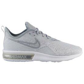 (取寄)ナイキ メンズ エア マックス シークエント 4 Nike Men's Air Max Sequent 4 White White Wolf Grey Wolf Grey