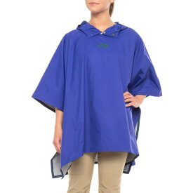 ノースフェイス レディース レインポンチョ 防水ジャケット 雨具 カッパ コラボモデル The North Face Rain Poncho Lapis Blue 送料無料